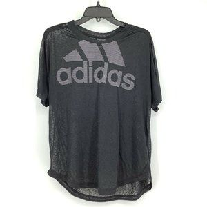 Adidas Athletic Med Climalite Magic Logo Tee New